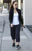 Minka Kelly - out and about in West Hollywood 01/16/13