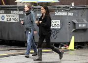 Кристин Кройк, фото 1170. Kristin Kreuk at set of 17th Precint in Vancouver - 21/03/11*for Drewy, foto 1170,
