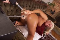 Trish Wells is back in a double penetration special