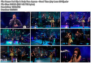 Carly Rae Jepsen & Owl City - Good Time (Jay Leno 2012)