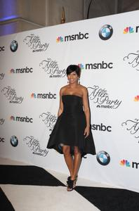 "TAMRON HALL glamorous! - ""White House Correspondent's Dinner: MSNBC After Party"" - *HUGE PIX*"