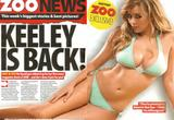 Keeley Hazell Bikini Pictures In Zoo Magazine